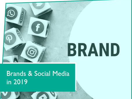 Top Social Media trends for brands in 2019