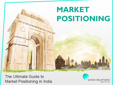 The Advanced Guide to Market Positioning in India