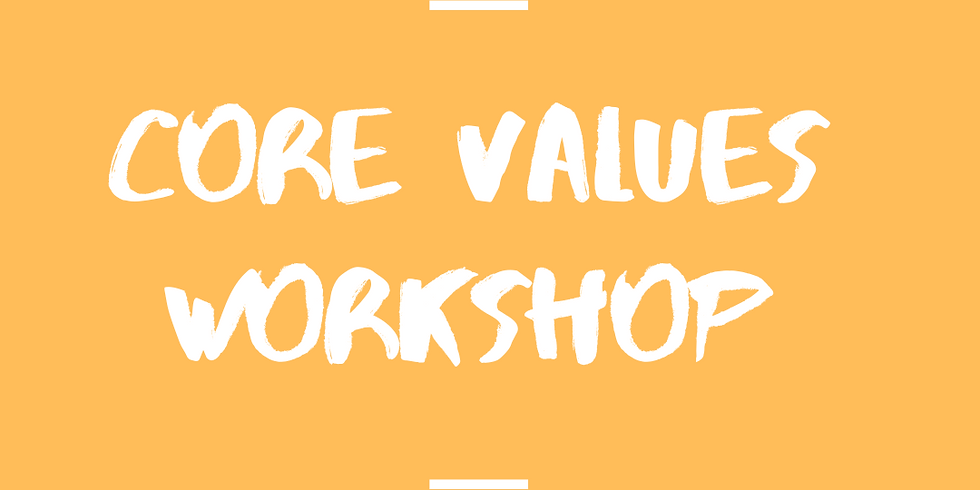 Discover your values - what truly matters to you