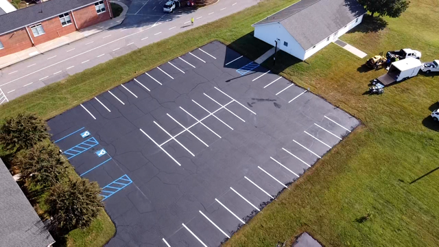 Parking Lot Seal Coating & Striping