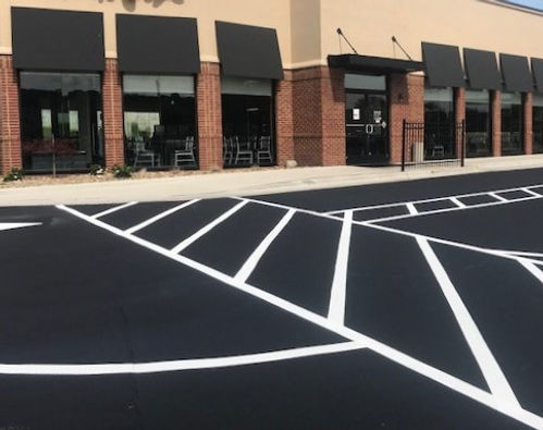 Corporate Paving, Sealing &Striping Projects in North Carolina