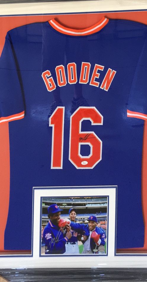 super popular c64aa 1c787 NY Mets - Dwight Gooden Signed Jersey with picture