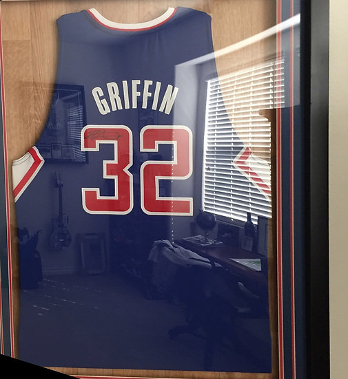 Blake Griffin LA Clippers Signed Jersey