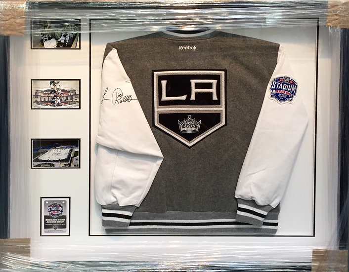 2015 NHL Outdoor Stadium- Robitaille Signed Jacket
