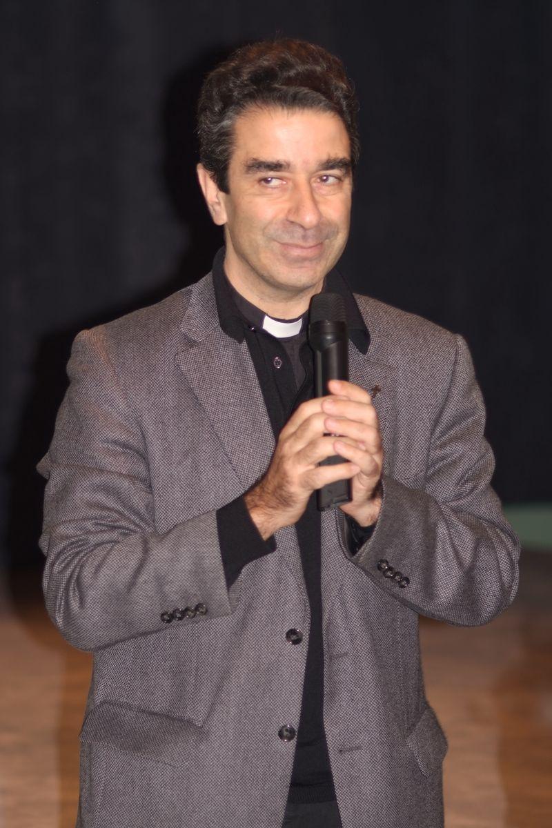 Père Lancrey-Javal, curé de St Louis