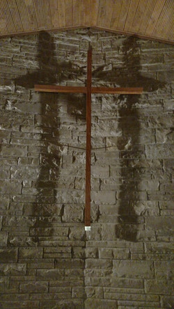 At the cross