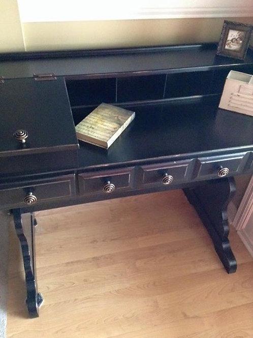 Black Vintage Desk