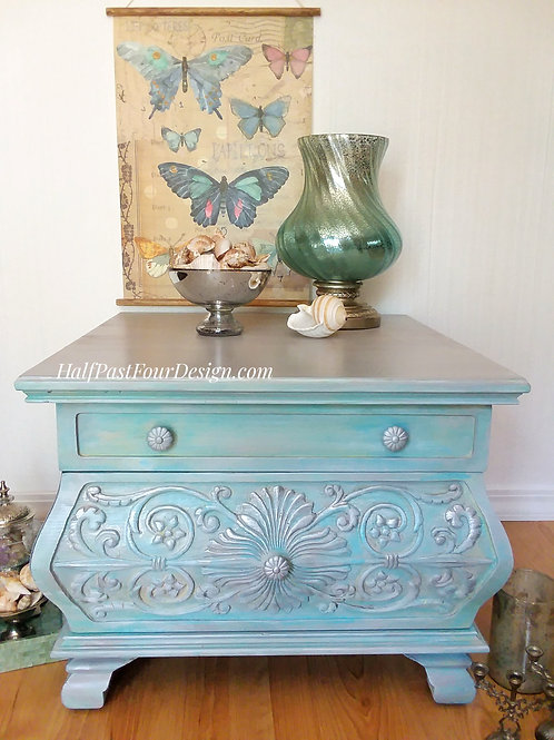 The Sea Chest. She's a coastal beauty that will remind you of the beach.
