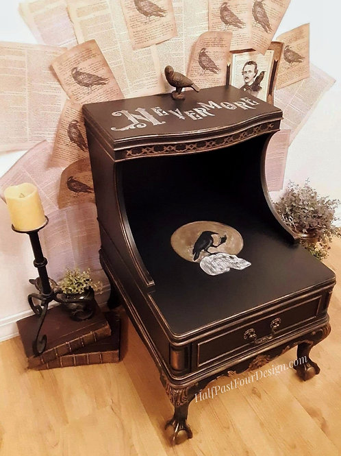 The Raven End Table
