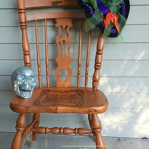 Witchy Halloween Chair