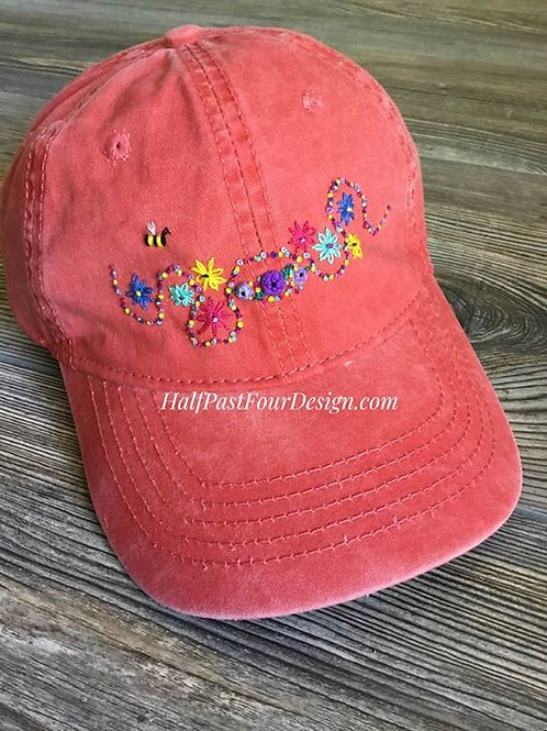 Embroidered Hat