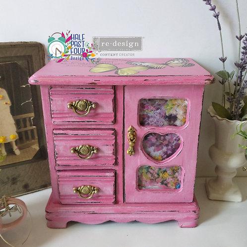 Fuschia Meadow Jewelry Box