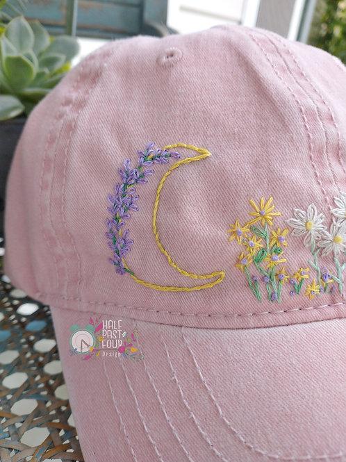 Lavender Moon Soft Pink Ball Cap
