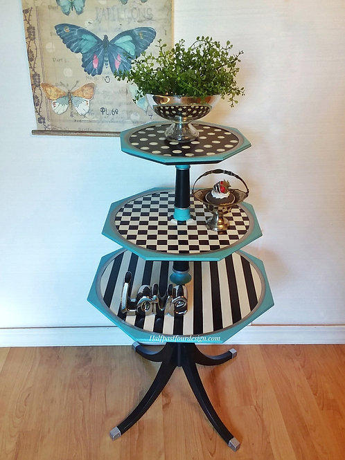 Whimsical 3 Tiered Table