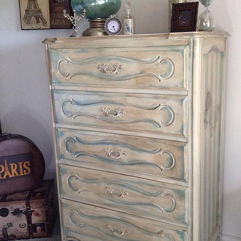 Old World Paris Chest of Drawers