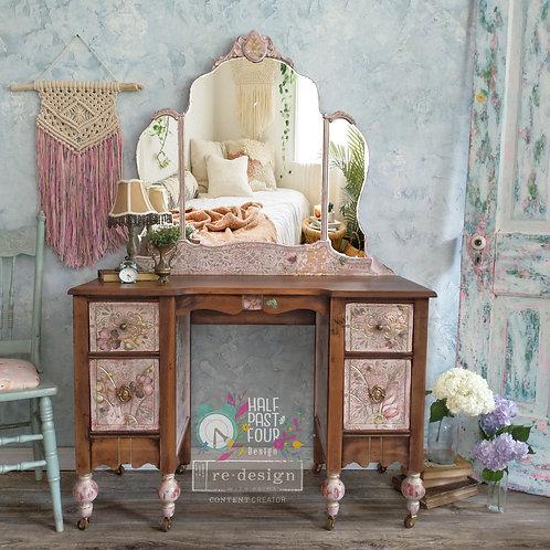 Antique Rustic Elegance Vanity