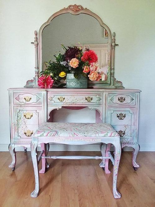 """Victoria"" Antique Vanity"