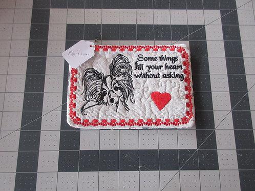 Coaster/Mouse Pad - Papillon