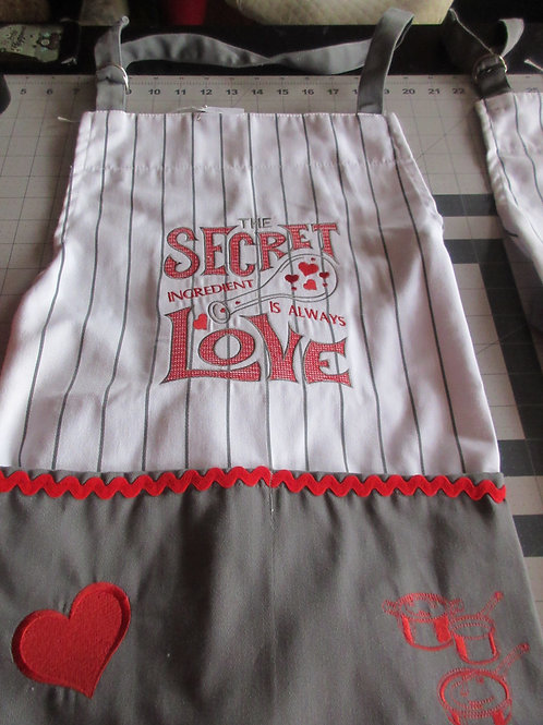 Valentine's Apron - Secret Ingredient is Love