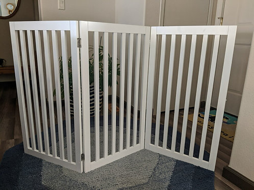 3 PANEL COLLAPSIBLE PET GATE