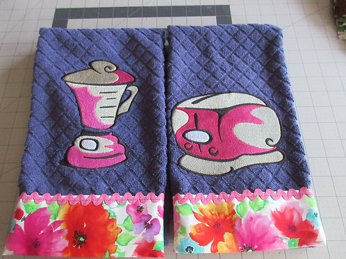 CUTE EMBROIDERED DISHTOWELS