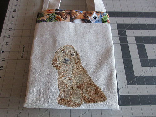 Tote Bag - Blond Cocker Spaniel