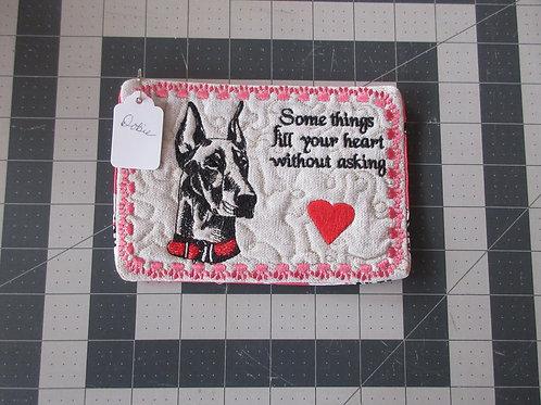 Coaster/Mouse Pad - Doberman