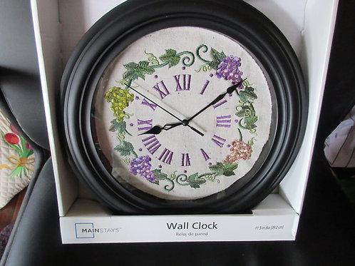 Wall Clock - Grape Theme