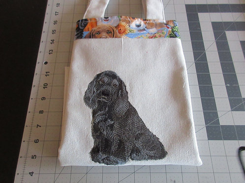 Tote Bag - Black Cocker Spaniel