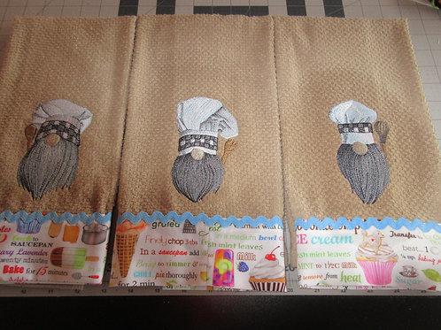 Dishtowels - baking gnomes