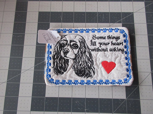 Coaster/Mouse Pad - Cavalier King Charles