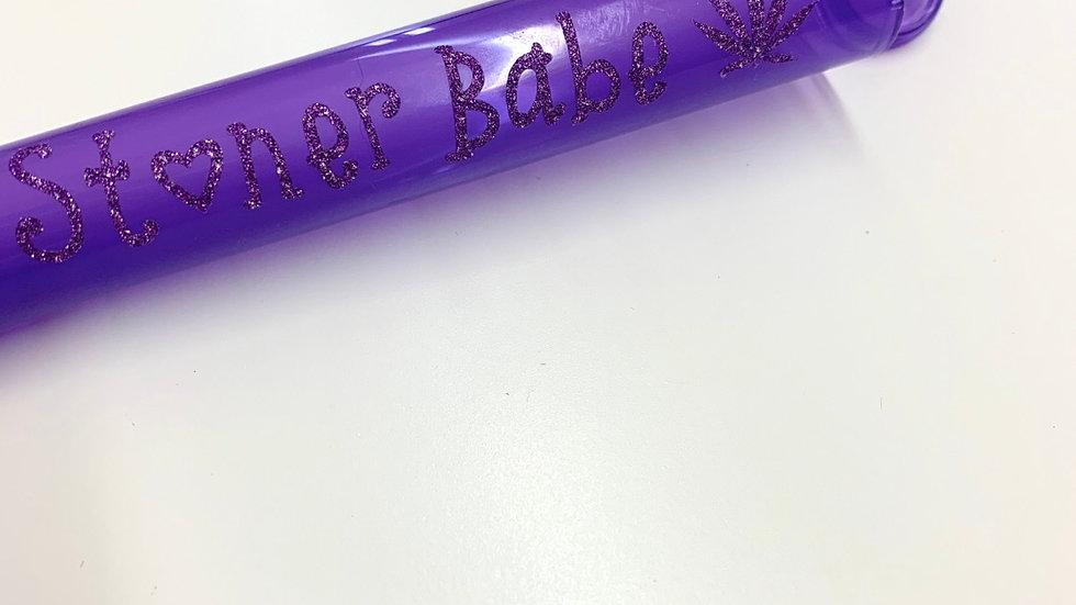 """Purple """"Stoner Babe"""" CannaTube"""