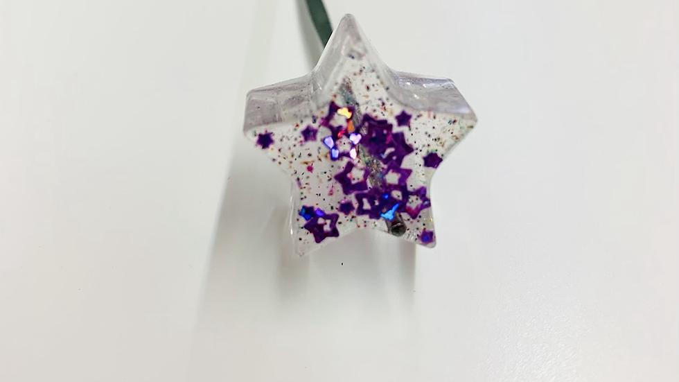 Glitter Galaxy Star Dab Stick