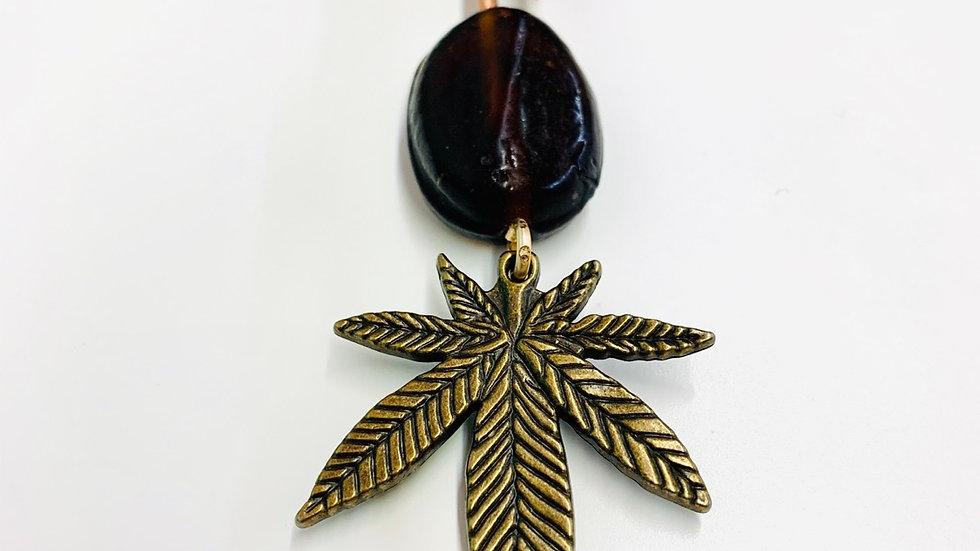 Brown Glass Mini Cannawand