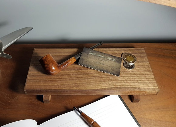Veneered Walnut Tray