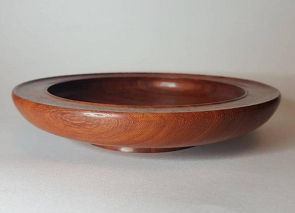 Padauk bowl. Walnut finish.
