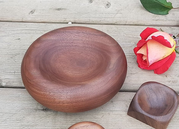 Walnut Platelette bowl