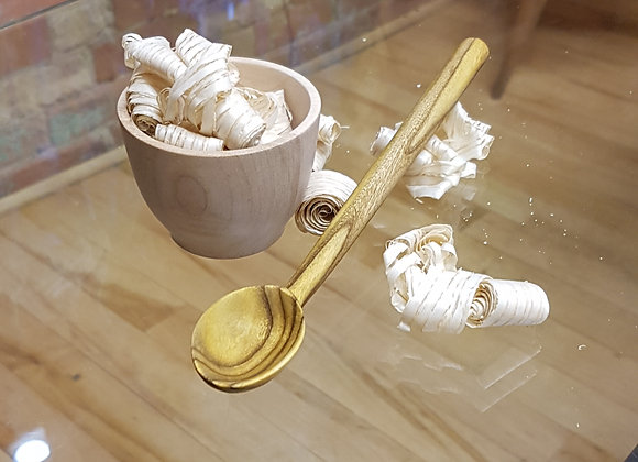 Sumac long handle spoon