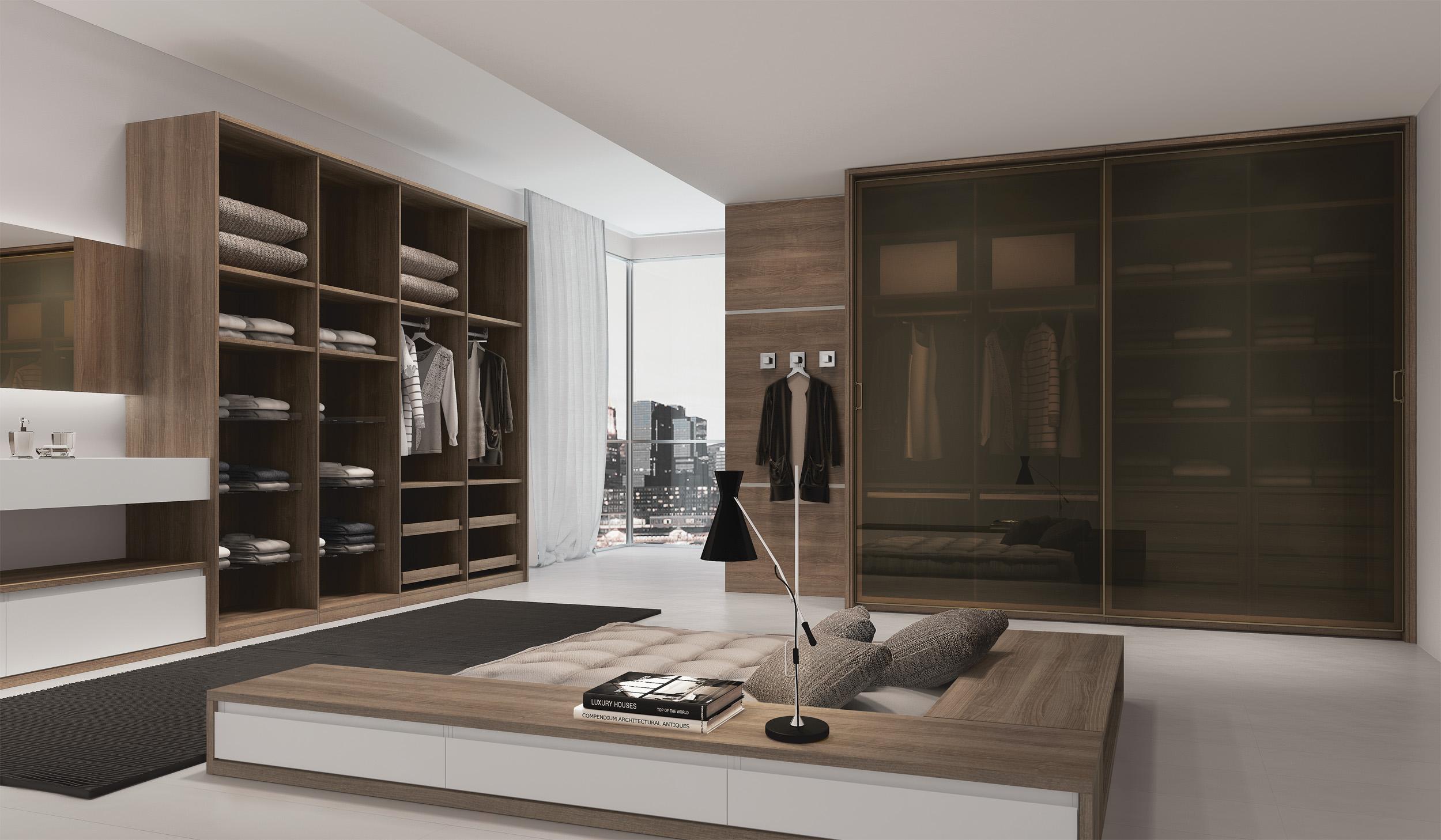Closet madeira