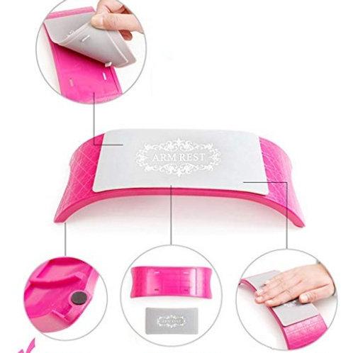 Apoyo de manos con mantel de silicona