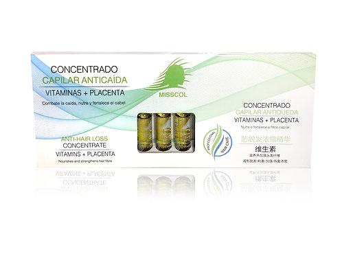 Ampollas concentrado capilar 10 ML 12 UNDS.