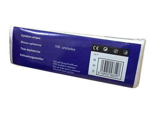 Bandas de papel para depilación