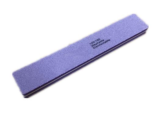 Lima pulidora con forma rectangular