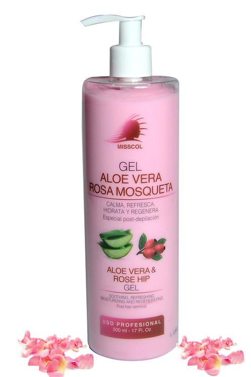 Gel Aloe Vera/ Rosa Mosqueta 500 ML