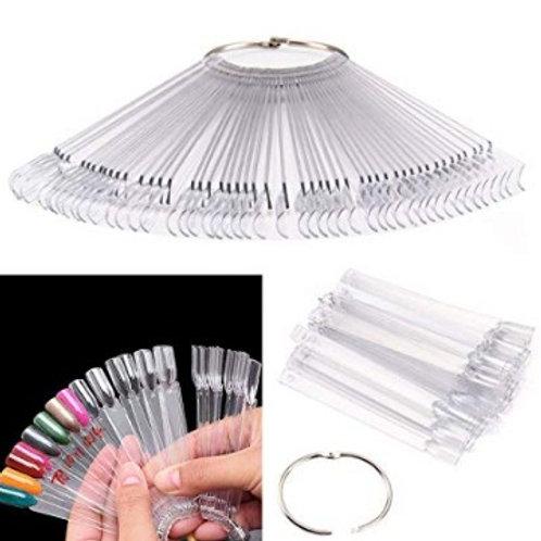 Pixnor 50 piezas de arte de uñas
