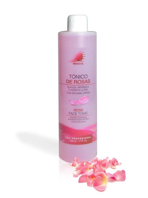 Tónico de rosas. 500 ML