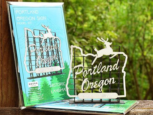 Portland Oregon Sign - Model Kit