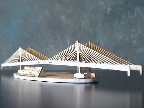 Tilikum Crossing Bridge - Model Kit