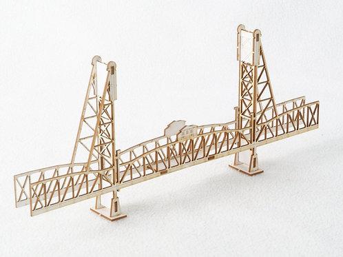 Hawthorne Bridge - Model Kit