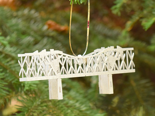 Mini Broadway Bridge Ornament - Assembled